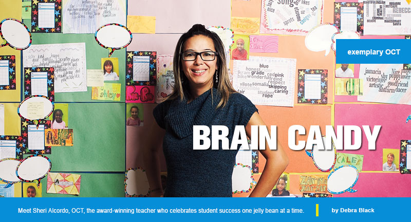 Brain Candy: Sheri Alcordo, Exemplary OCT (Photo: Jaime Hogge)