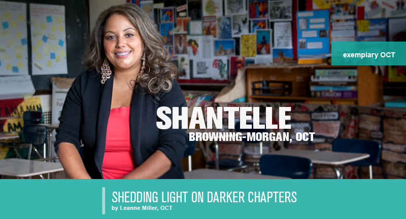 (oct, shantelle browing-morgan, oct exemplary teacher)